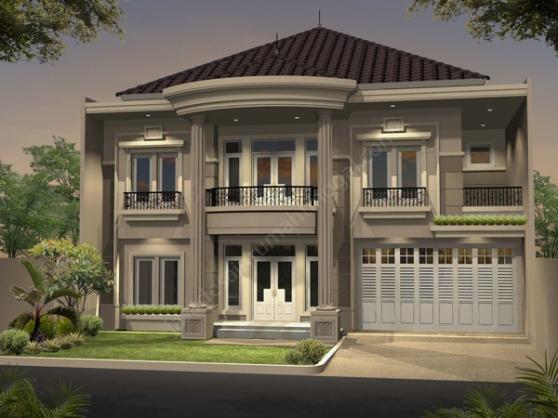rumah minimalis berkesan mewah