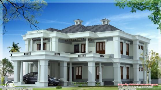 gambar 2 rumah mewah